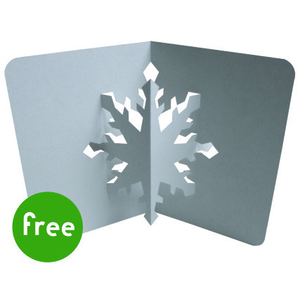 pop-up snowflake cards